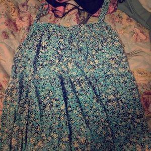 Torrid size 5 dress/ spaghetti straps/ knee length